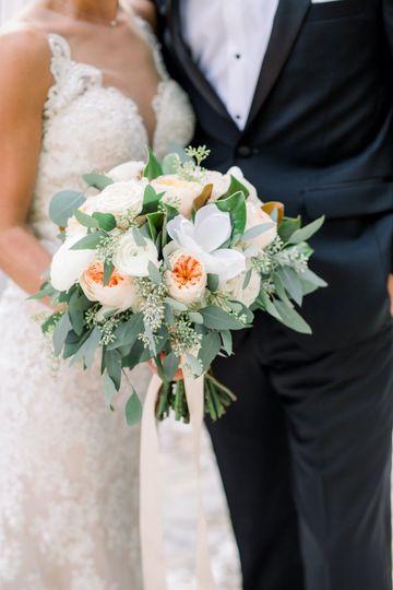 W & B floral