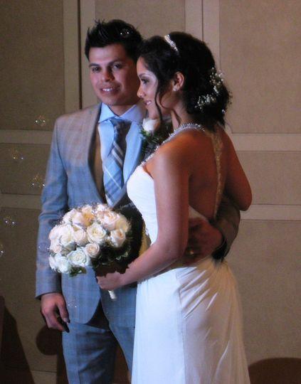 Bilingual wedding ceremony, Marlboro, NJ The DeAvilas