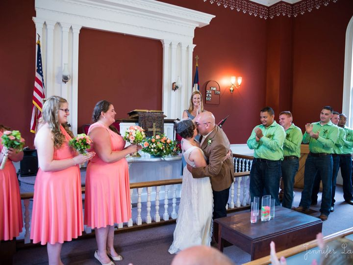Tmx 1413849472757 Mike N Jenn Smooch 091314 Middletown wedding officiant