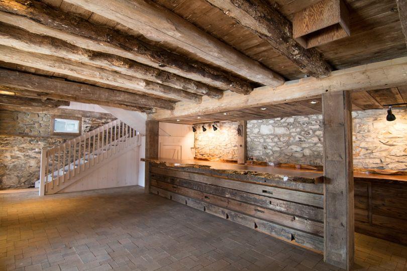 The Rustic Barn Lower Level Ba