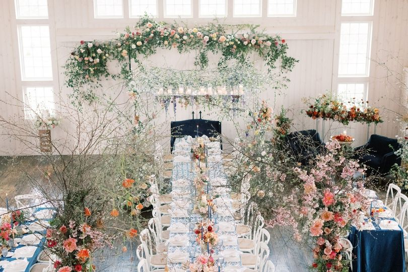 A Reception in The Rustic Barn
