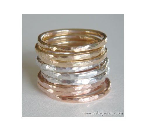 Tmx 1270585412893 HammeredittybittyGroupStacklg Pinedale wedding jewelry