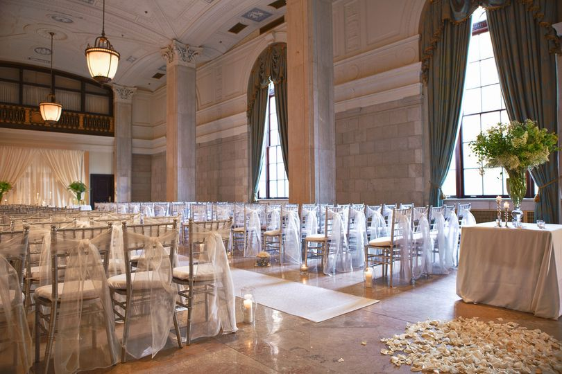 Say your vows in historic Statler Ballroom