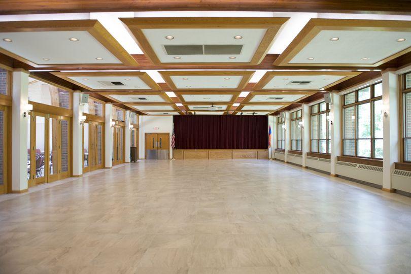 Renovated Saddler Hall/stage