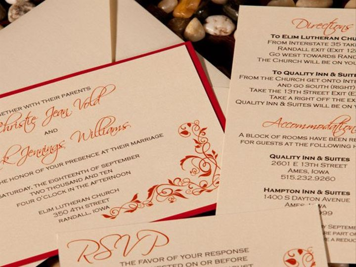 Tmx 1280856649870 4 Ankeny, IA wedding invitation