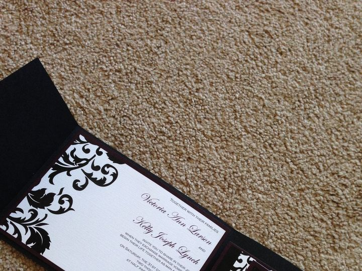 Tmx 1447863888748 Larson Ankeny, IA wedding invitation