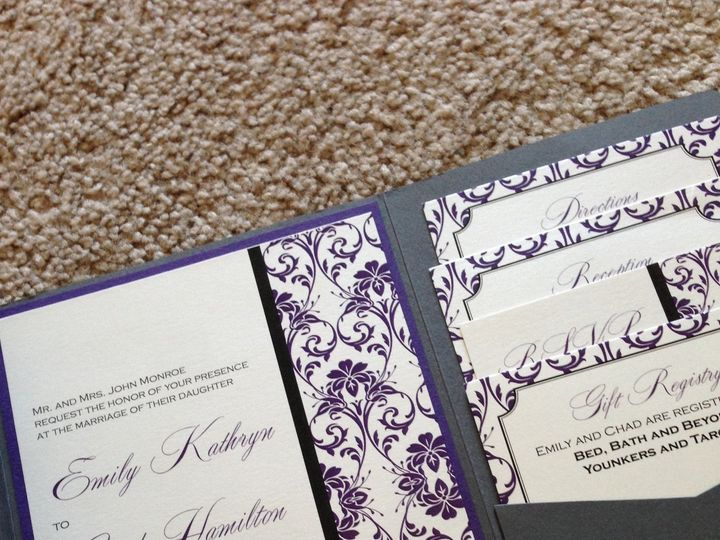 Tmx 1447863988262 Monroe Inside Ankeny, IA wedding invitation
