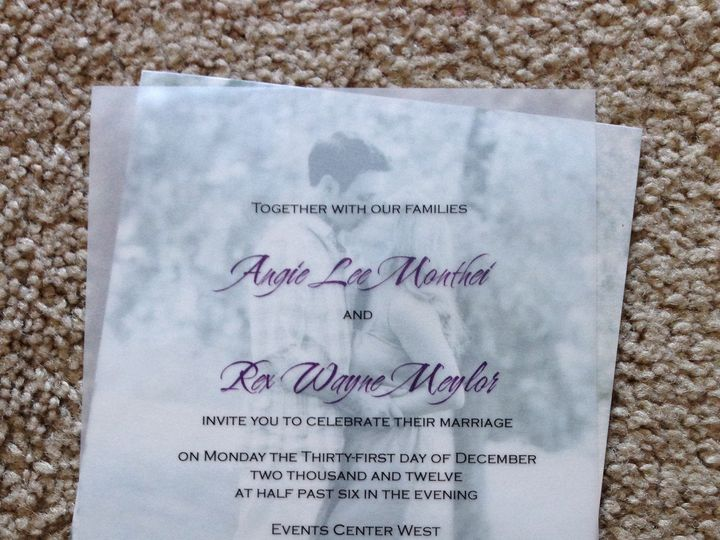 Tmx 1447864041869 Monthei Ankeny, IA wedding invitation