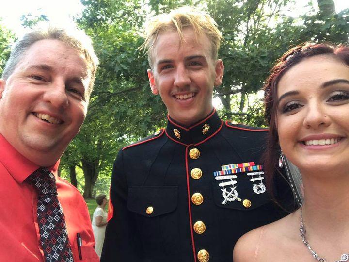 Helping a Marine & his Bride