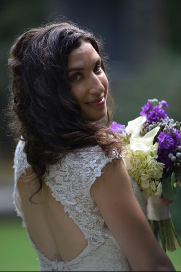 Beautiful portrait of the Bride