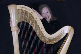 The Living Harp, Karlinda Caldicott, harpist