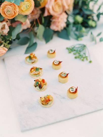 Appetizers | Stephanie Brazzle Photography