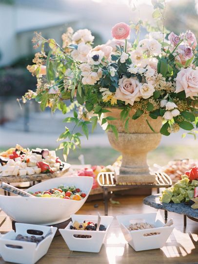Table setup | Stephanie Brazzle Photography