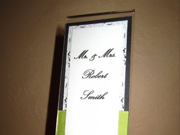 Tmx 1298668459007 IMG0911 Brick, NJ wedding invitation