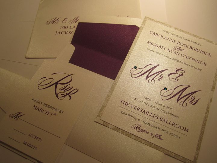 Tmx 1372728498031 Img0142 Brick, NJ wedding invitation