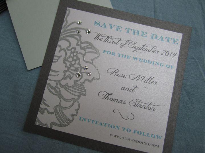 Tmx 1382294454324 Img0355 Brick, NJ wedding invitation
