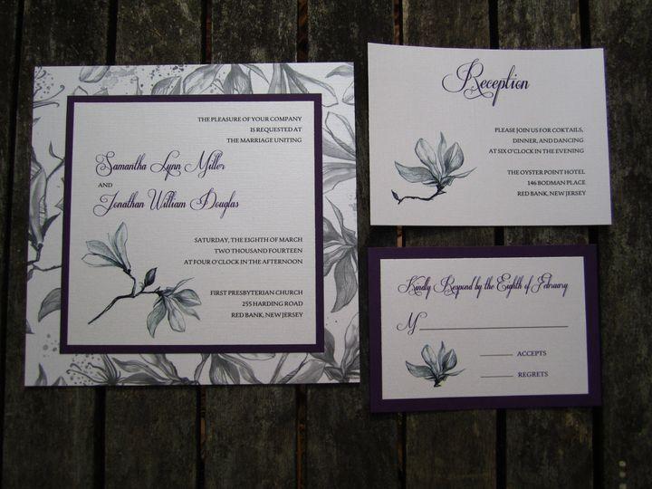 Tmx 1384024147713 Img046 Brick, NJ wedding invitation