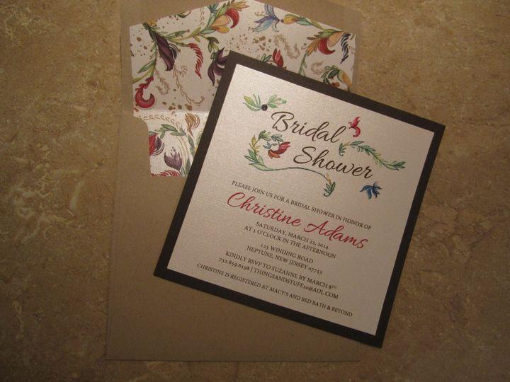 Tmx 1394565980484 Img069 Brick, NJ wedding invitation