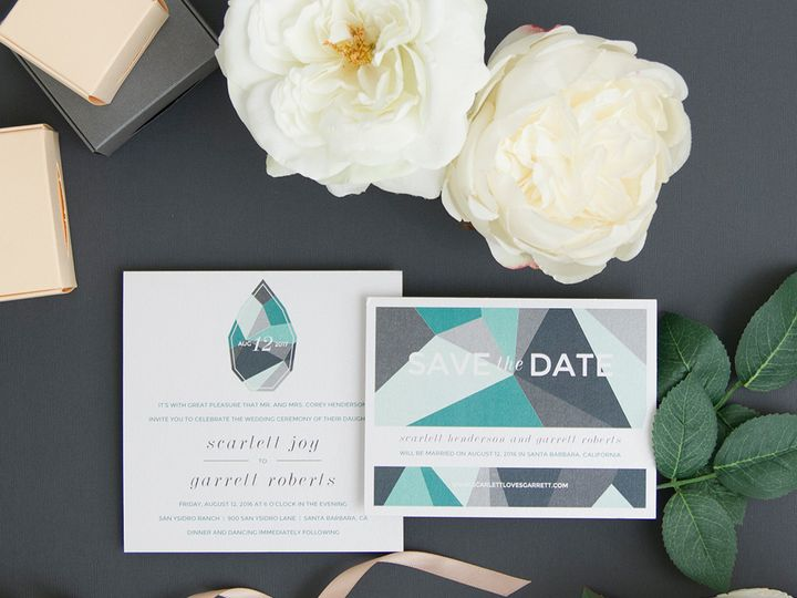 Tmx 1486315839283 Envelopments Social Media Photos 2 Brick, NJ wedding invitation
