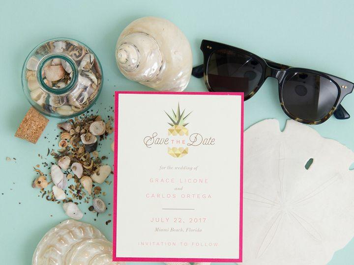 Tmx 1486315847455 Envelopments Social Media Photos 9 Brick, NJ wedding invitation