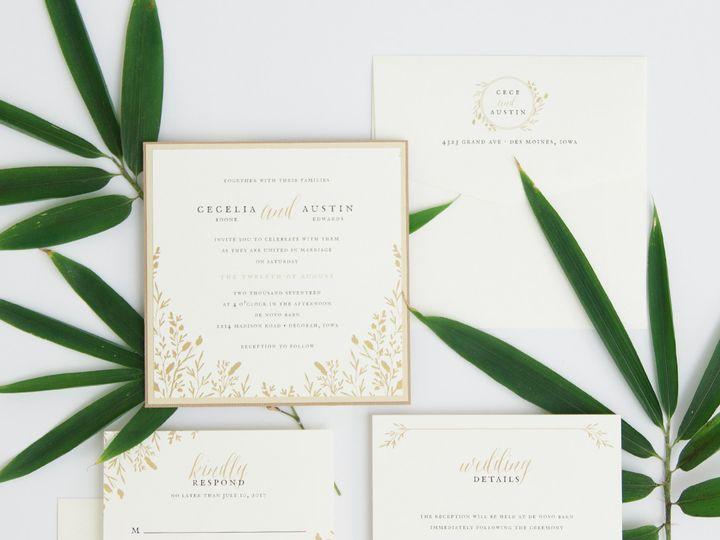 Tmx 1486315855442 Envelopments Social Media Photos 10 Brick, NJ wedding invitation
