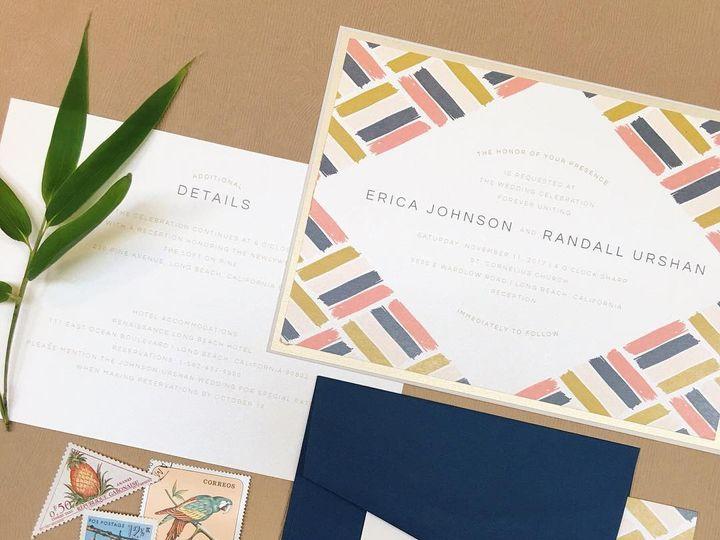 Tmx 1486315862040 Envelopments Social Media Photos 31 Brick, NJ wedding invitation