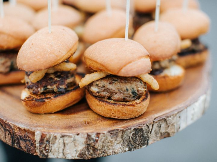 Tmx Wild Boar And White Cheddar Sliders On Toasted Brioche With Chukar Cherry Jam A Buttermilk Fried Onion Ring 2 51 633402 1564511128 Richland, WA wedding catering