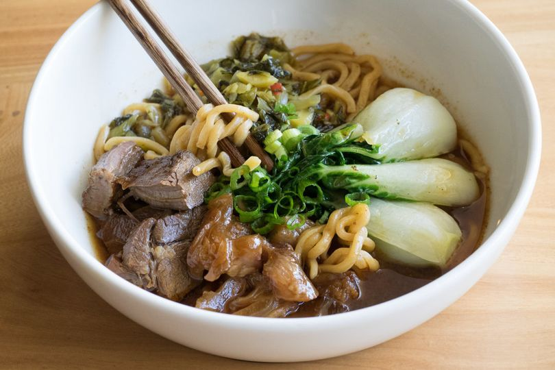 Taiwan '27 spice' braised beef noodle soup