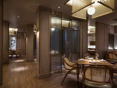 Eight tables by george chen dining room