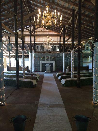 Elegant Rustic Barn Wedding, indoor and outdoor space!