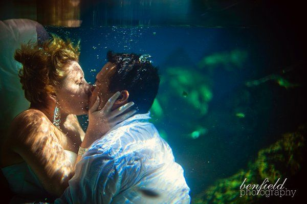 Most amazing Trash The Dress session any of our couples has ever done!  Thanks Benfield Photography.
