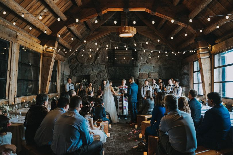 Mt Hood Silcox Hut Wedding