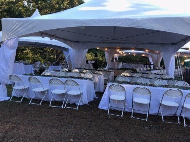 Multi Tent Wedding