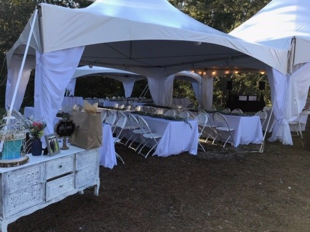Multi Tent with Decor