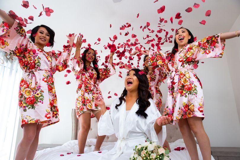 Celebration before the ceremon