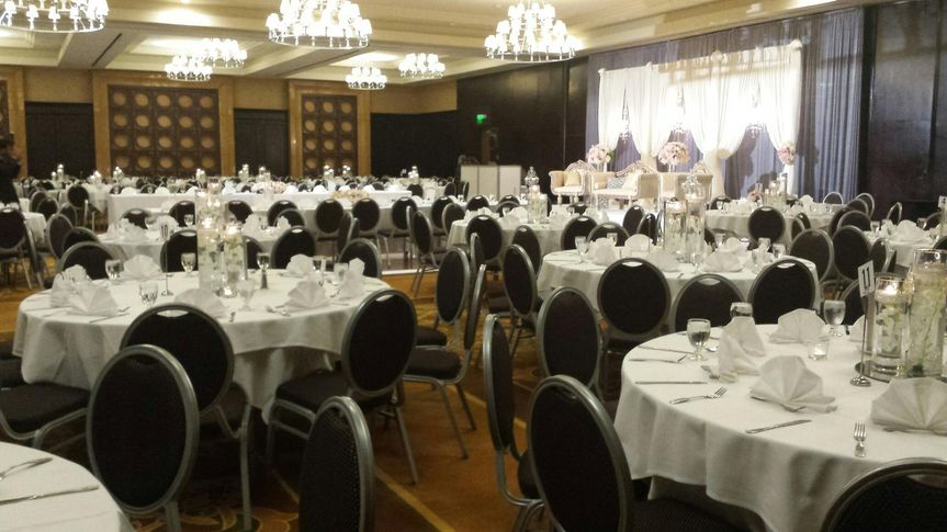 Sheraton Garden Grove South Anaheim Wedding Ceremony Reception Venue California Orange