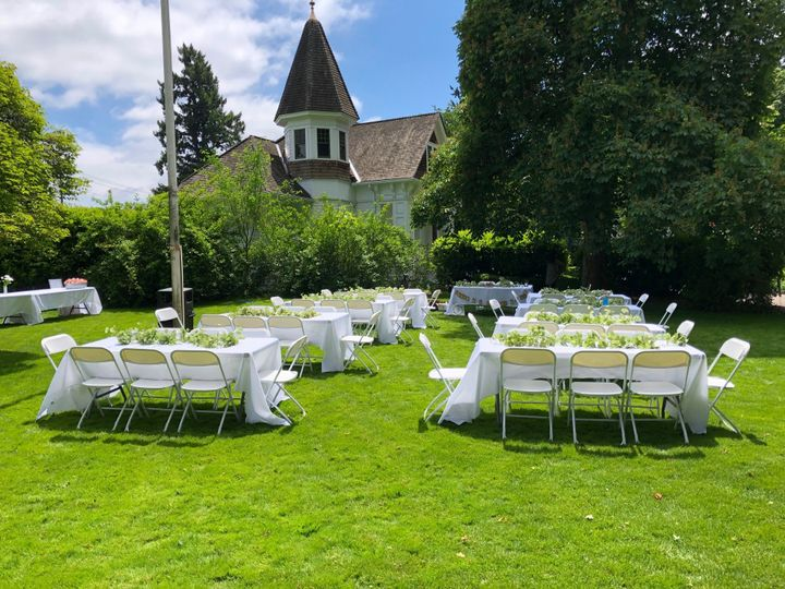Front Lawn Reception
