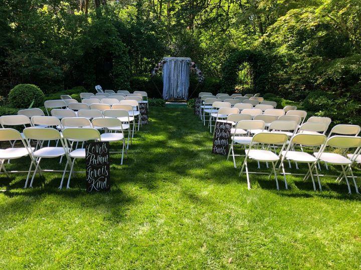 Scroll Garden Ceremony