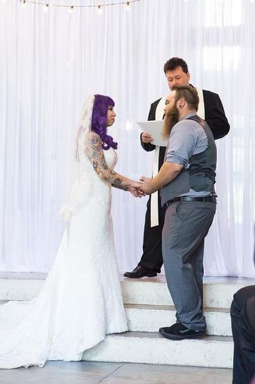 purple hair bride 51 668402