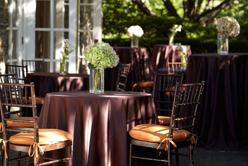 The Red Oak Patio is perfect for outdoor receptions and is complemented by lushly landscaped...