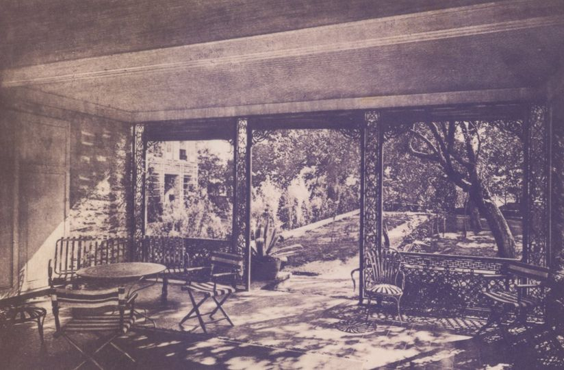 Red Oak Mansion Circa 1905