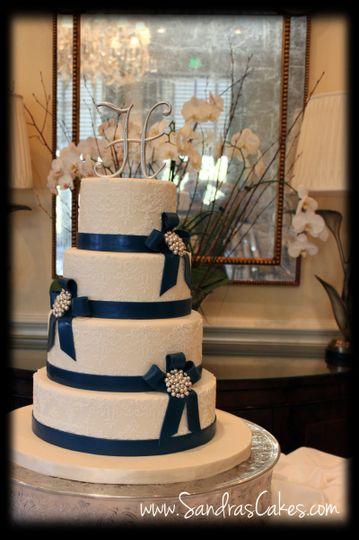 navy blue wedding 3