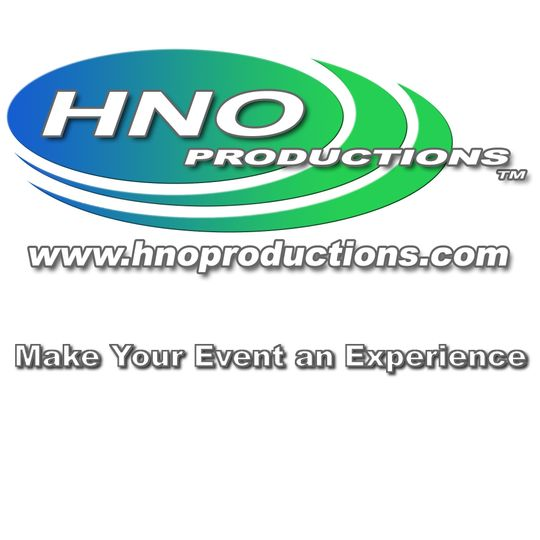 hno productions com with motto with white backgrou