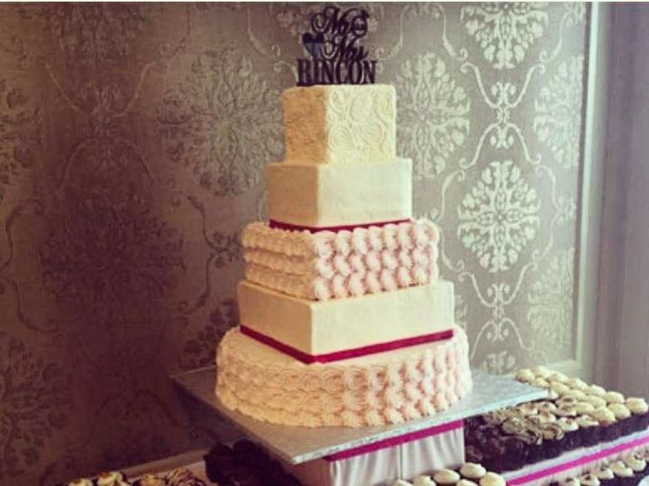 Tmx 1518105061 68641ec3d2dfde64 1518105059 312e493de746c3eb 1518105059921 2 17992108 101550637 Owings Mills, Maryland wedding cake