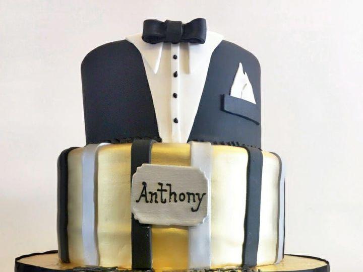Tmx 1518105069 9802a147dcad163b 1518105067 041be8eaf90bc3b3 1518105059947 18 22815499 10155652 Owings Mills, Maryland wedding cake