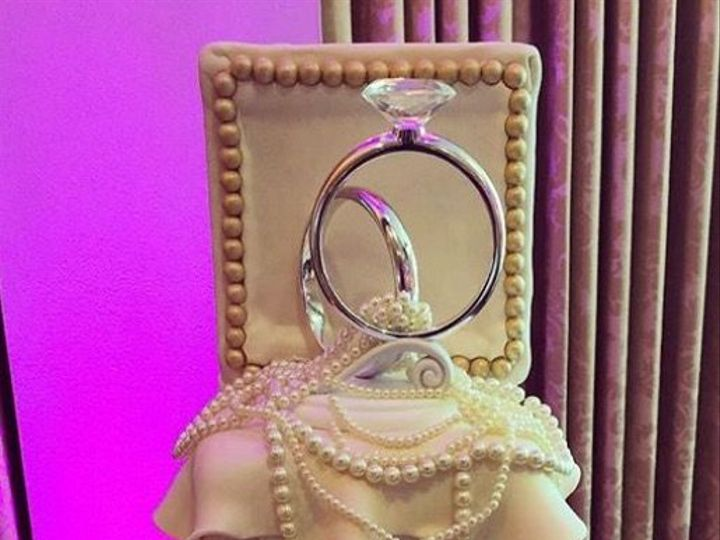 Tmx 1518140445 3cb16a60ee20f64f 1518140444 6583074e82e21f30 1518140433494 11 IMG 8319 Owings Mills, Maryland wedding cake