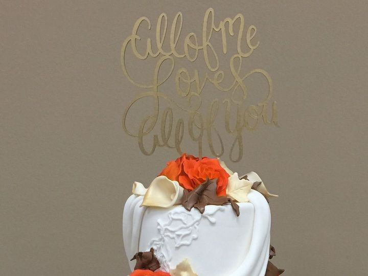 Tmx 1518140449 F6470c0a6813b253 1518140447 4a1879ef5fe6f7dc 1518140433503 19 IMG 8337 Owings Mills, Maryland wedding cake