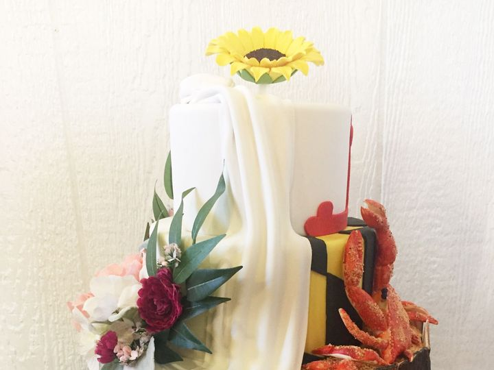 Tmx 1518140498 9a678ed033b5c1d6 1518140445 41d3a4400281f43b 1518140433496 13 IMG 8330 Owings Mills, Maryland wedding cake