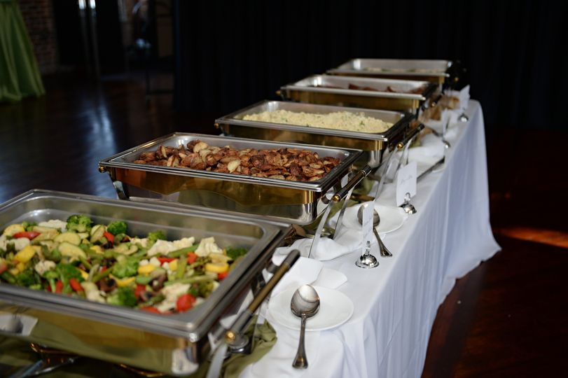 A steaming buffet