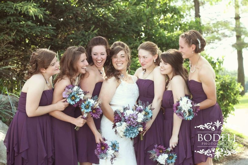 Vintage Wedding Bouquet  Photo Credit bodell photography